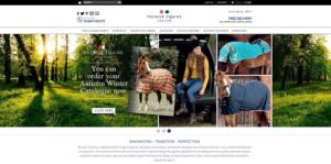 Premier Equine's website redesign: achieving optimal user experience