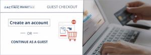 Increase your customers' conversion rate with the guest checkout